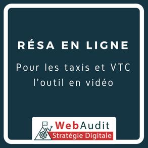 Blog Webaudit - réservation en ligne pour taxi et VTC