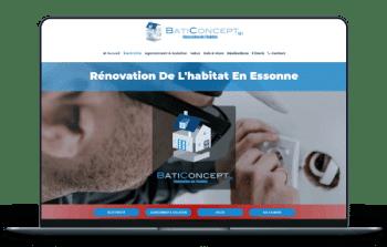 Site Internet Electricien - BatiConcept91