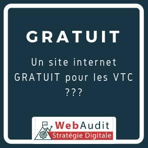 Site internet Gratuit pour VTC