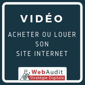 Acheter ou Louer un site internet