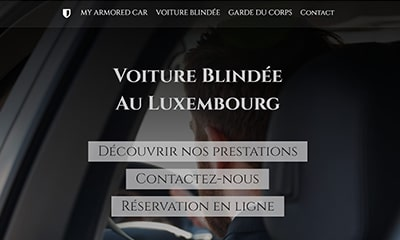 site internet my armored car voiture blindée garde du corps luxembourg