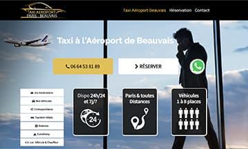 Votre navette Taxi à l'Aéroport de Beauvais Paris