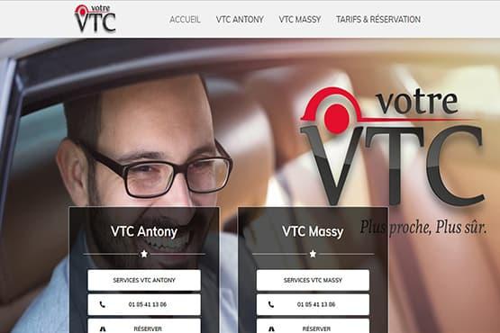 Site Internet pour chauffeur VTC à Massy & Antony