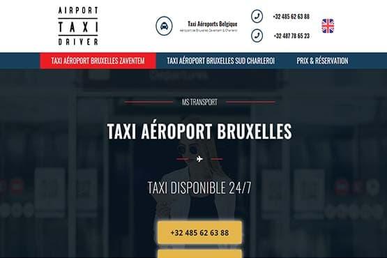 Station de Taxi à l'Aéroport de Bruxelles Zaventem et Charleroi