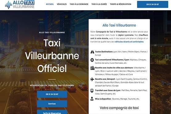 Réserver un chauffeur de Taxi à Villeurbanne