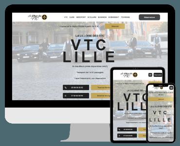 Lille Site internet VTC