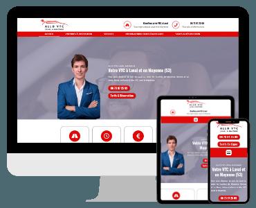 Site internet VTC Laval