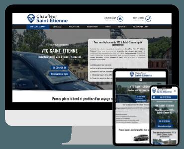 Site internet chauffeur prive Saint Etienne
