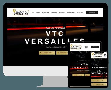 Site web VTC Versailles