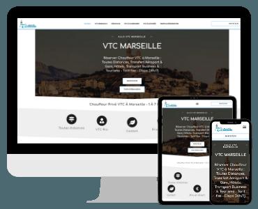 VTC a Marseille avec site internet VTC reference
