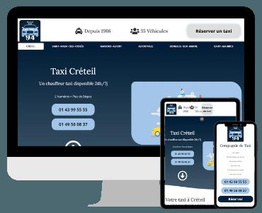 Site internet Taxi Créteil