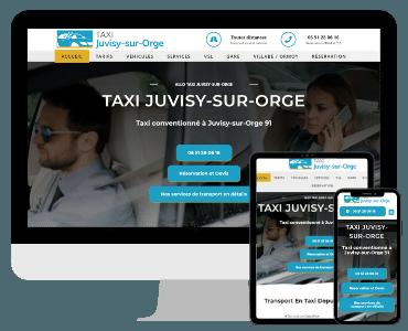 Site internet taxi Juvisy sur Orge