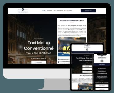 Site internet taxi Melun Agglo