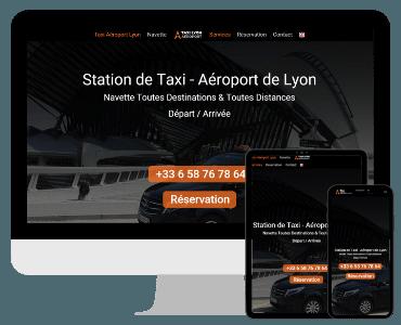 Site internet taxi aeroport de lyon