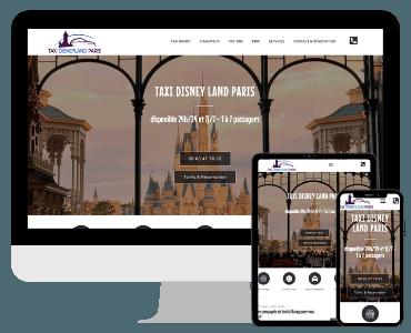 Site internet taxi disneyland Paris