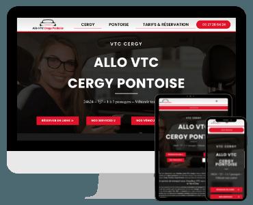 Site internet VTC Cergy Pontoise